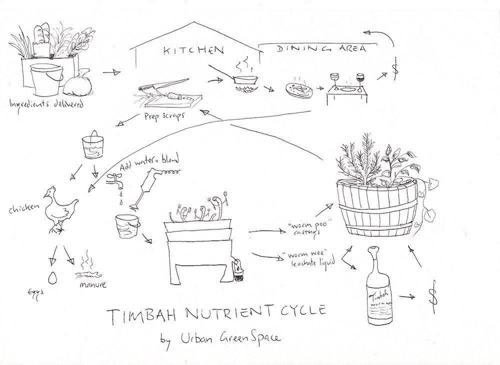 Timbah Nutrient Cycle
